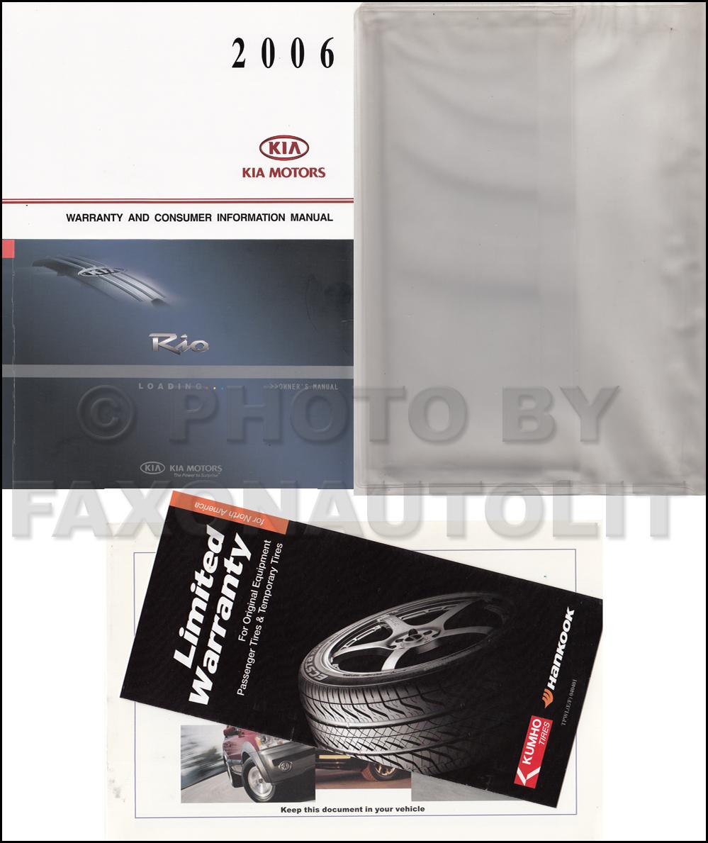 2006 kia rio repair shop manual original 2 vol set 2006 kia rio repair manual 2006 kia rio owners manual