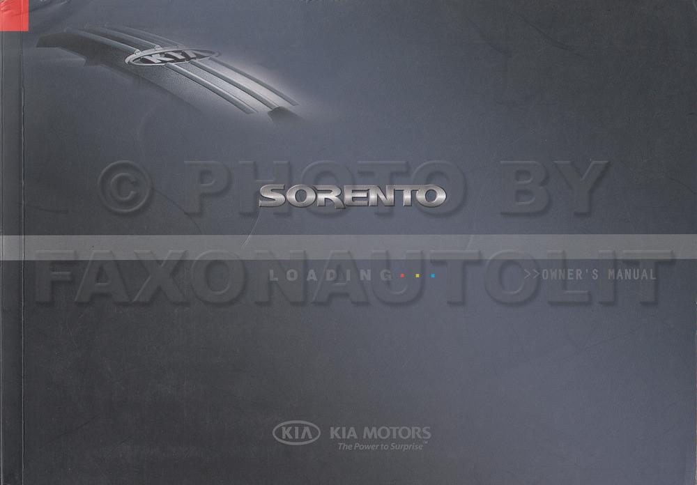 2006 kia sorento owners manual original rh faxonautoliterature com 2005 kia sorento owners manual 2005 kia sorento owners manual