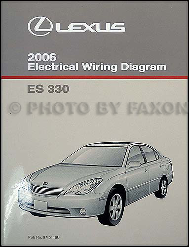 2006 lexus es 330 wiring diagram manual original. Black Bedroom Furniture Sets. Home Design Ideas