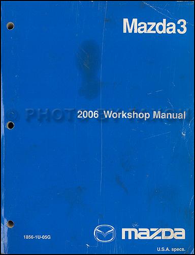 mazda wiring diagram original mazda 2006 mazda3 repair shop manual original 129 00