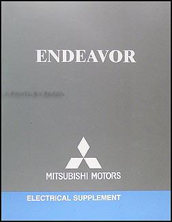2006 Mitsubishi Endeavor Wiring Diagram Manual Original - Repair Wiring Scheme