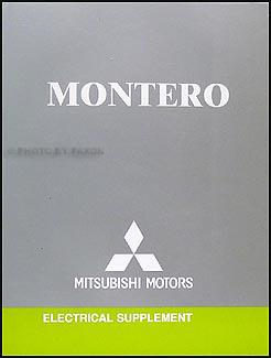 2006 mitsubishi montero wiring diagram manual original rh faxonautoliterature com 89 Mitsubishi Montero Wiring-Diagram 89 Mitsubishi Montero Wiring-Diagram