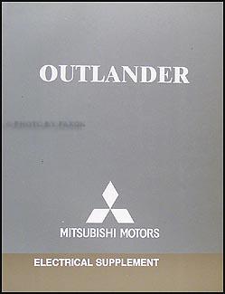 2006 mitsubishi outlander wiring diagram manual original rh faxonautoliterature com mitsubishi outlander 2006 fuse box diagram mitsubishi outlander 2006 fuse box location
