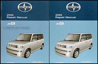 2006 Scion xB Repair Manual Original