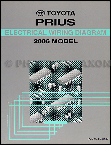 2006ToyotaPriusOWD 2006 toyota prius wiring diagram manual original 2006 prius electrical wiring diagram at nearapp.co