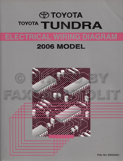 2006 toyota tundra wiring diagram manual original rh faxonautoliterature com 2006 toyota tundra jbl wiring diagram 2006 toyota tundra tail light wiring diagram