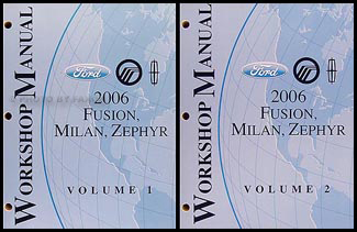 2006fordFusionORMSet 2006 ford fusion mercury milan lincoln zephyr repair shop manual 2 mercury milan wiring diagram at n-0.co