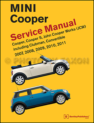 2002 2006 mini cooper bentley repair shop manual. Black Bedroom Furniture Sets. Home Design Ideas