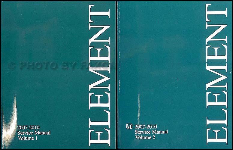 2007 2010 honda element repair shop manual original rh faxonautoliterature com 2007 honda element service manual pdf 2007 honda element owners manual