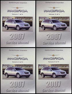 2007 chrysler pacifica service manual. Black Bedroom Furniture Sets. Home Design Ideas