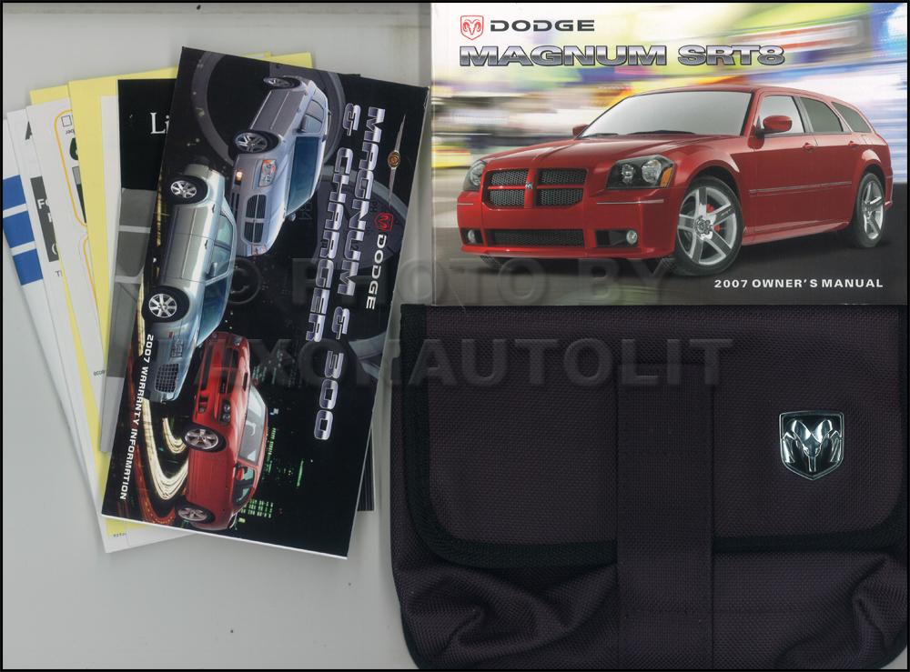 2007 dodge magnum srt8 owner s manual original rh faxonautoliterature com 2006 Dodge Magnum RT 2006 Dodge Magnum Interior