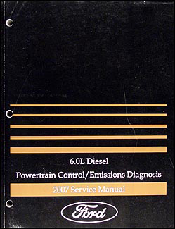 2007 ford f650 f750 super dutytruck wiring diagram manual original 2007 ford f650 f750 6 0l diesel engine emissions diagnosis manual