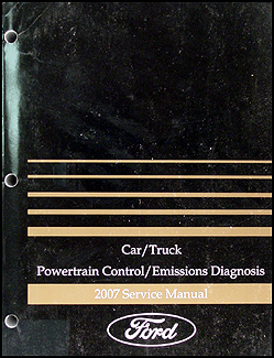 2007 Gas Engine & Emissions Diagnosis Manual FoMoCo Car & Truck