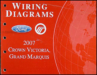 2007 Crown Victoria & Grand Marquis Original Wiring Diagram Manual on 2007 crown victoria belt diagram, 2007 ford crown victoria fuse box diagram, 2007 crown victoria dimensions, 2007 crown victoria timing, 2003 excursion wiring diagram, ford wiring diagram, 2007 crown victoria oil filter, 2004 ranger wiring diagram, ford crown victoria parts diagram, home wiring diagram, 2006 escape wiring diagram, 2003 mustang wiring diagram, 2007 crown victoria fuel system diagram, 2007 crown victoria engine, 2007 crown victoria parts, 2003 ford crown victoria fuse diagram, 2006 expedition wiring diagram, 2007 crown victoria frame, 2004 mustang wiring diagram, 2007 crown victoria transmission,