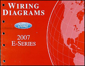 2007 ford econoline van club wagon wiring diagram manual original rh faxonautoliterature com