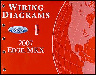2007FordEdgeWD 2007 ford edge lincoln mkx wiring diagram manual original 2007 lincoln navigator radio wiring diagram at alyssarenee.co