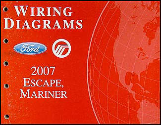 2007 Ford Escape Wiring Diagram http://www.faxonautoliterature.com/2007-Ford-Escape-and-Mercury-Mariner-Wiring-Diagram-Manual-Original-P19661.aspx