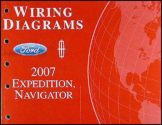 2007FordExpeditionWD 2007 ford expedition lincoln navigator wiring diagram manual original  at panicattacktreatment.co