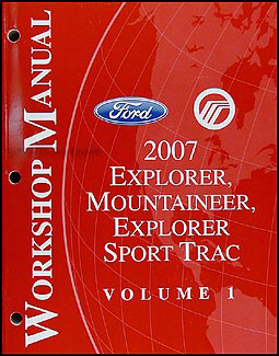 2007 Ford Explorer Mercury Mountaineer Wiring Diagram ...