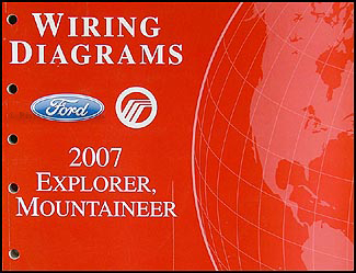 2007FordExplorerWD 2007 ford explorer mercury mountaineer wiring diagram manual original 2000 Mercury Mountaineer Radio Wiring Diagram at bayanpartner.co