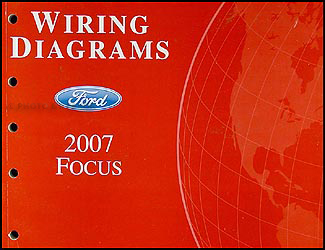 2007FordFocusWD 2007 ford focus wiring diagram manual original 2007 ford focus wiring diagram at bayanpartner.co