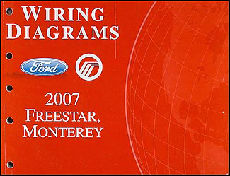 2007FordFreestarWD 2007 ford freestar & mercury monterey wiring diagram manual original 1956 Mercury Wiring Diagram at gsmportal.co