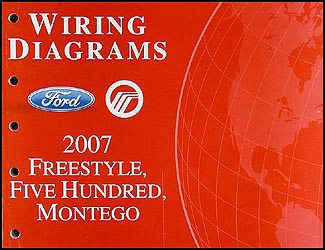 2007 freestyle, 500, montego wiring diagram manual original trailer wiring diagram for ford f350 wiring diagram for ford freestyle #12