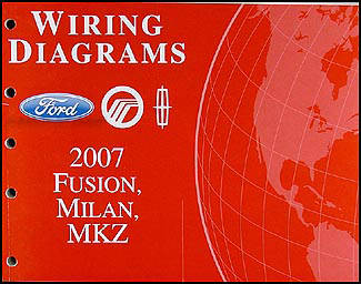 2007FordFusionWD 2007 ford fusion, mercury milan, lincoln mkz wiring diagram manual mercury milan wiring diagram at n-0.co