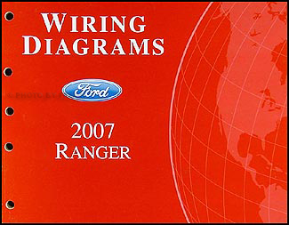 2007FordRangerWD 2007 ford ranger wiring diagram manual original ranger wiring diagram at gsmx.co