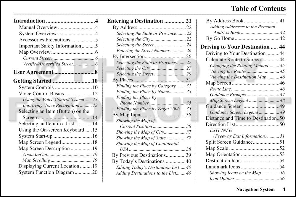 2007 honda accord navigation system owners manual original. Black Bedroom Furniture Sets. Home Design Ideas