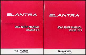 hyundai elantra 2007 repair manual