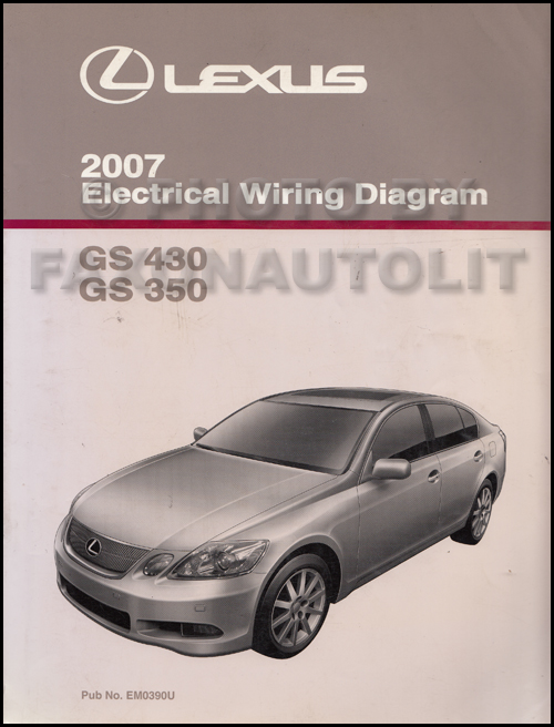 2007LexusGSOWD 2007 lexus gs 430 350 wiring diagram manual original hondarancher es 350 wiring diagram at panicattacktreatment.co