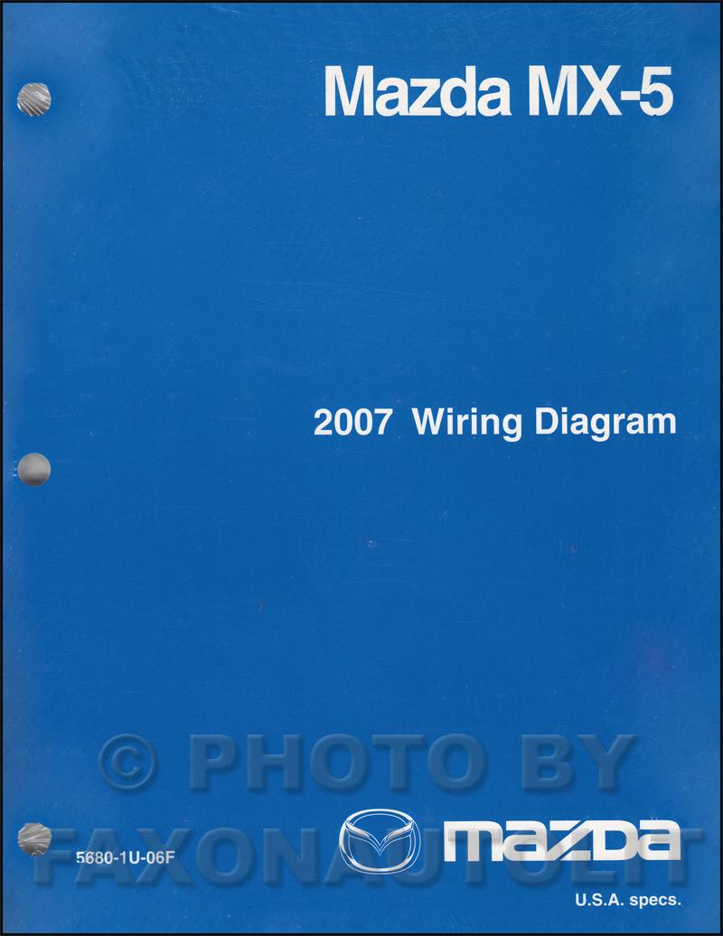2008 mazda miata mx 5 wiring diagrams 2007 mazda mx-5 miata wiring diagram manual original