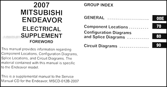 2007MitsubishiEndeavorETMS TOC 2007 mitsubishi endeavor wiring diagram manual original 2005 mitsubishi endeavor wiring diagram at readyjetset.co