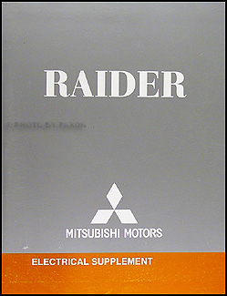 2007 mitsubishi raider wiring diagram manual original 2007 mitsubishi raider trailer wiring #10