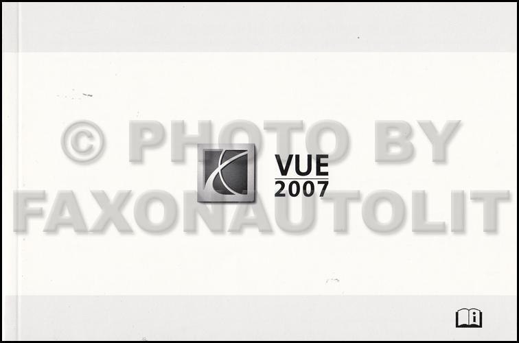 2007 Saturn Vue Owner S Manual Original border=