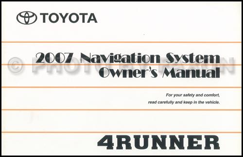 2007 Toyota 4runner Wiring Diagram Manual Original