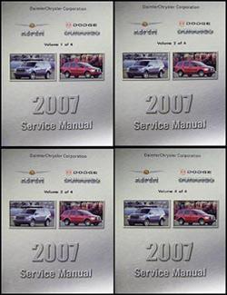 2007 dodge durango | owner's manual.