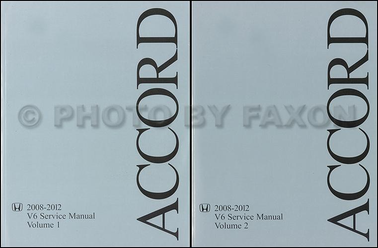 2012 honda accord manual