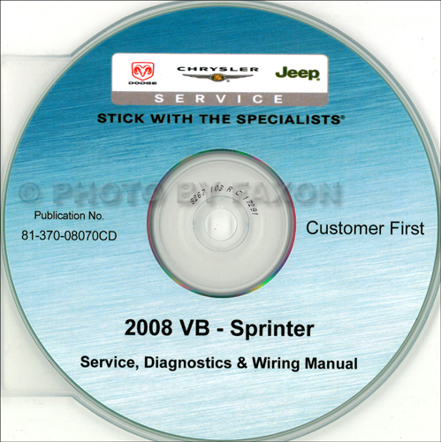 2008 dodge sprinter van cd rom repair shop manual rh faxonautoliterature com 2008 Dodge Sprinter Problems 2008 Dodge Sprinter Van Specs
