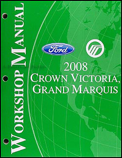 2008 crown victoria grand marquis original wiring diagram manual 2008 crown victoria grand marquis repair shop manual original 149 00