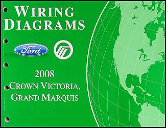 2008 crown victoria grand marquis original wiring diagram manual rh faxonautoliterature com 2008 ford crown victoria radio wiring diagram 2008 ford crown vic wiring diagram