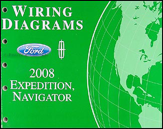 2008 ford expedition lincoln navigator wiring diagram manual original 2012 Ford Edge Wiring Diagram