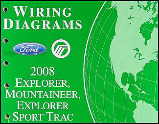 2008 ford explorer mercury mountaineer wiring diagram manual original rh faxonautoliterature com 2008 ford explorer stereo wiring diagram 2008 ford explorer trailer wiring diagram