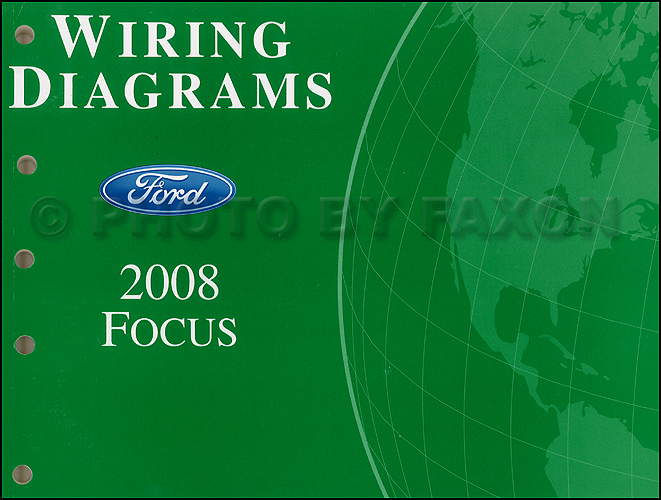 2008 ford focus wiring diagram manual original. Black Bedroom Furniture Sets. Home Design Ideas