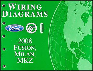 2008 fusion, milan, mkz wiring diagram manual original2008 Fusion Wiring Diagram #7