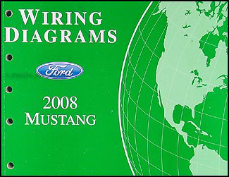 2008 ford mustang wiring diagram manual original Ford Mustang Wiring Diagram
