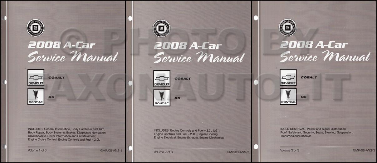 2008 chevy cobalt and pontiac g5 repair shop manual original 3 rh faxonautoliterature com 2006 Chevy Cobalt Front Turn Signal Bulb 2006 Chevy Cobalt Radiator