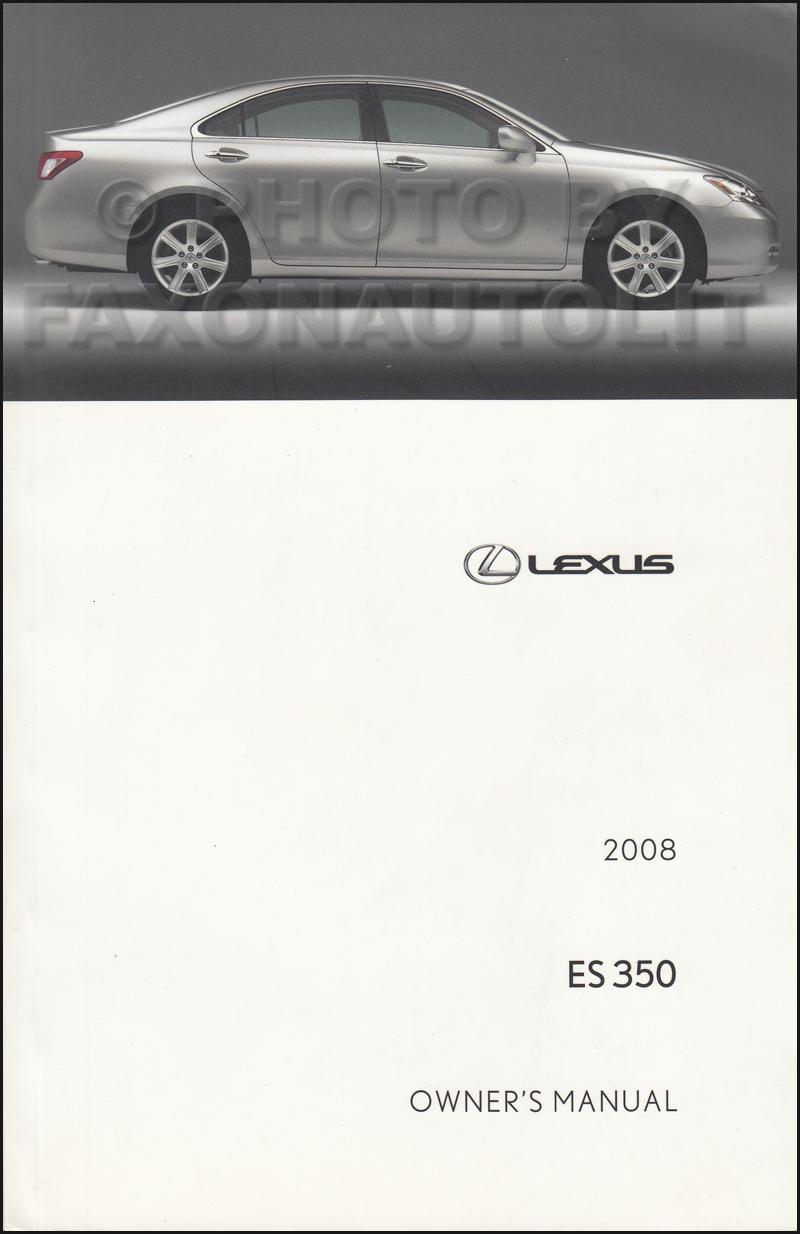 search rh faxonautoliterature com 2008 lexus rx 350 owners manual 2007 lexus es 350 owners manual