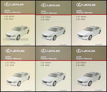 2008 lexus ls 460 and 460l repair shop manual original 6 volume set rh faxonautoliterature com lexus ls 460 repair manual pdf 2013 lexus ls 460 owners manual